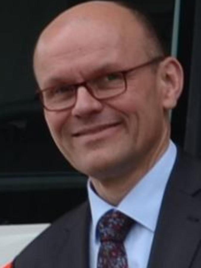 Der neue Vorsitzende des BRK-Kreisverbands Südfranken: Peter Gallenmüller aus Pleinfeld.