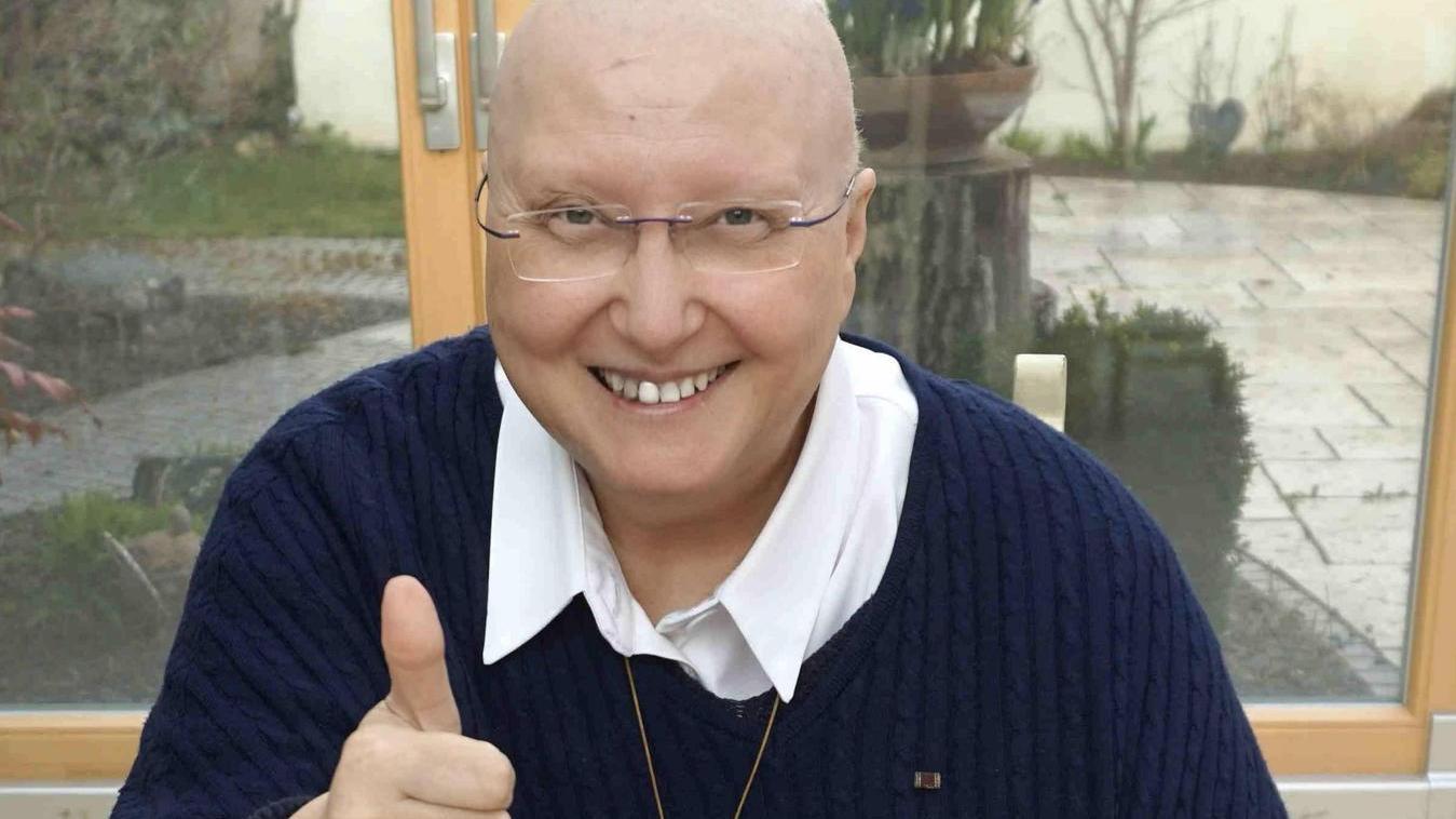 """""""Bitte schämt Euch nicht Krebs zu haben, Ihr habt nicht versagt"""": Das ist eine von vielen Botschaften, die Schwester Teresa senden möchte."""