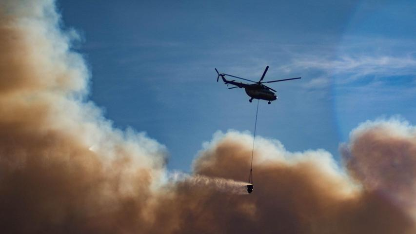 Im Herbst 2020 haben Wälder nahe dem einstigen Kernkraftwerk Tschernobyl heftig gebrannt. Es gelang den Feuerwehrleuten, zu verhindern, dass die Flammen das atomar verseuchte Gebiet erobern.