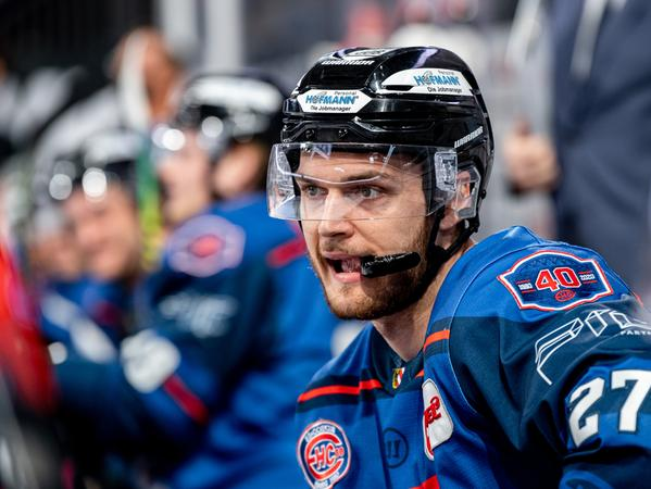 Ein gutes Jahr: Trotzdem wird David Trinkberger in der kommenden Saison nicht mehr für die Ice Tigers spielen.