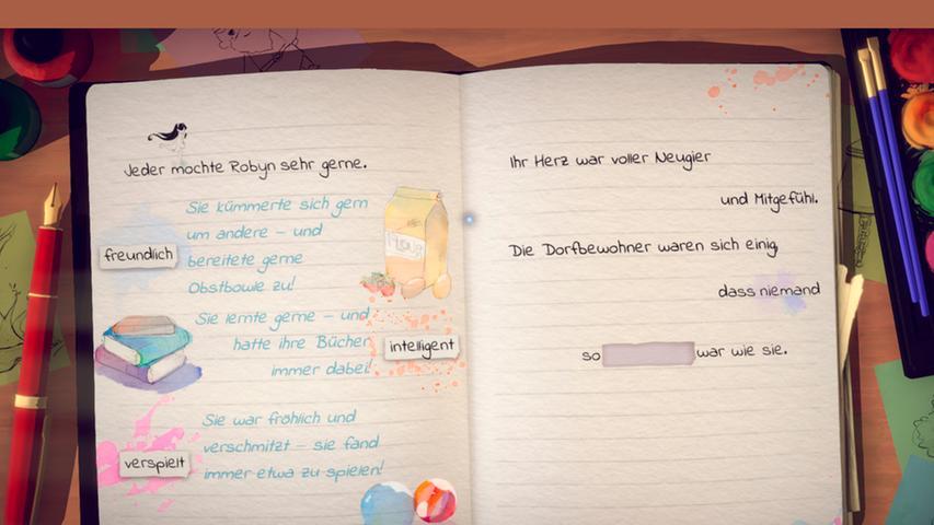 Lost Words: Beyond the Page Eine magische Verbindung aus Wort und Bild. Besser lässt sich dieses interaktive Märchen kaum beschreiben. Die junge Heldin Izzy sammelt Glühwürmchen und Worte, mit denen sich in der wunderschön gestalteten Spielwelt Hindernisse überwinden lassen - eine wegweisende Idee, die hoffentlich viele Nachahmer finden wird. Auf diese Weise entsteht ein kindgerechtes Gesamtkunstwerk, von dem sich auch Erwachsene verzaubern lassen dürfen. Die Texte sind allesamt deutsch, die Sprachausgabe englisch. Damit gibt es einen zusätzlichen Lerneffekt für Jüngere, die
