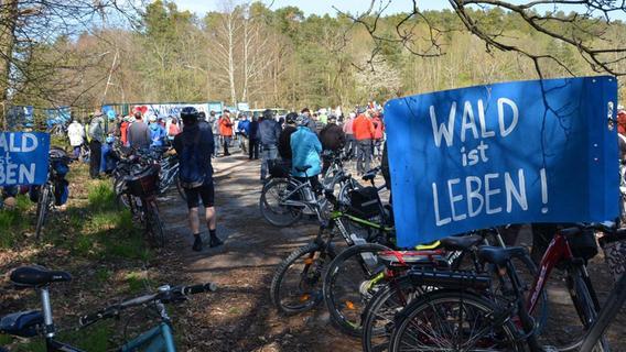 Kundgebung in Langlau: An Wackersdorf erinnert