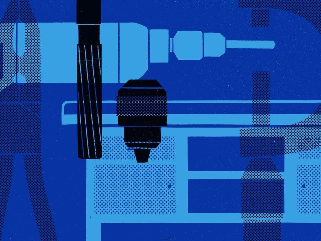Im Bauhaus-Stil präsentierte sich das blau-schwarze Titelbild des Theisen-Katalogs von 1962.