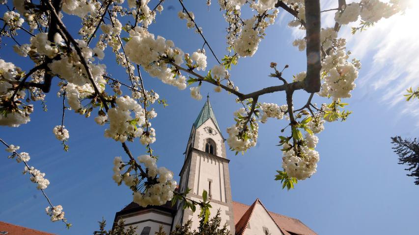 Klein und schmuck: Die Liebfrauenkirche in Herzogenaurach