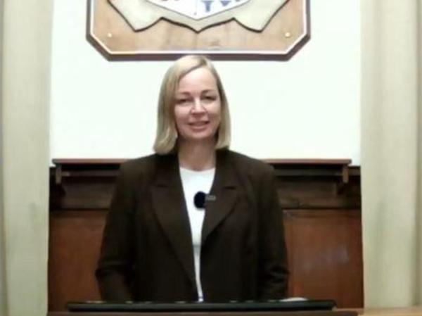 Kristina Becker wird am 5. Mai wie schon vor einigen Wochen bei der Online-Bürgerversammlung den Treuchtlingern via Livestream Rede und Antwort stehen.