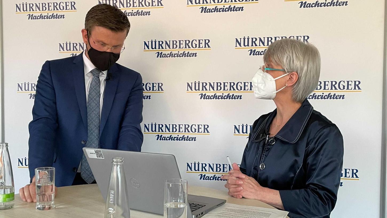 Am Mittwochabendbeantwortete Nürnbergs OB Marcus König Eure Fragenim Facebook-Livestream.