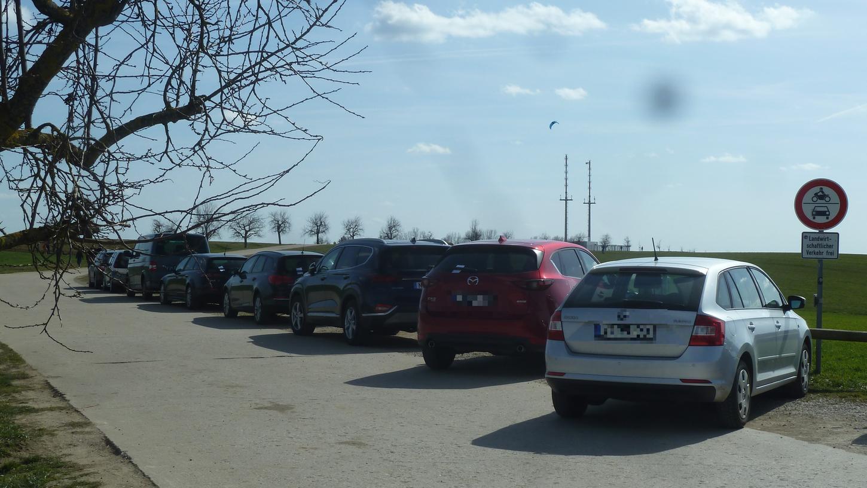 Eigentlich ist das Parken hier am Schleifweg verboten.