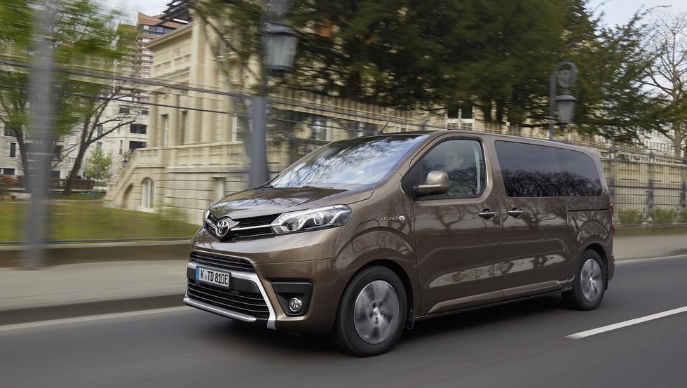 Toyota Proace Verso Electric: Lokal emissionsfreier Shuttle.
