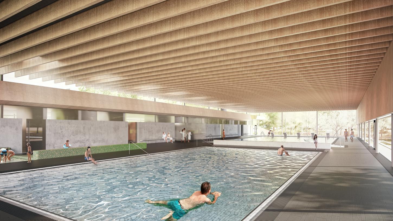 So soll Schwabachs neues Hallenbad aussehen.