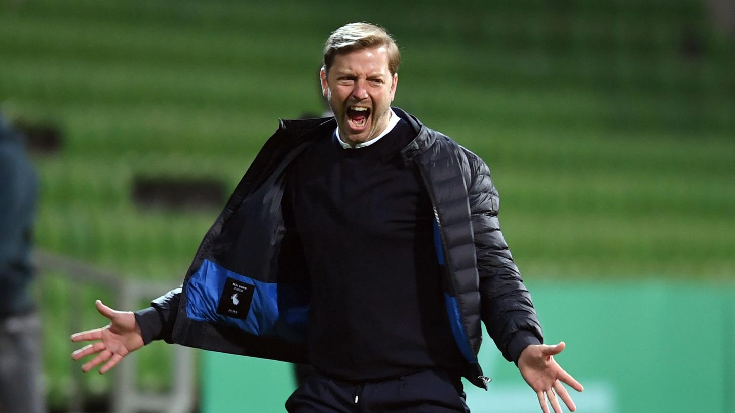 Florian Kohfeldt bleibt Trainer des SV Werder Bremen.