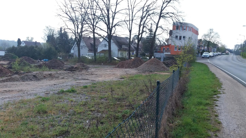 Das neue Baugebiet