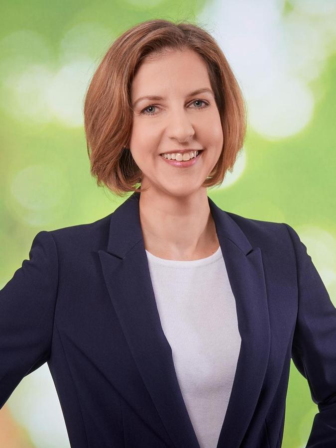 Dr. Kathrin Herrmann, Chefärztin.