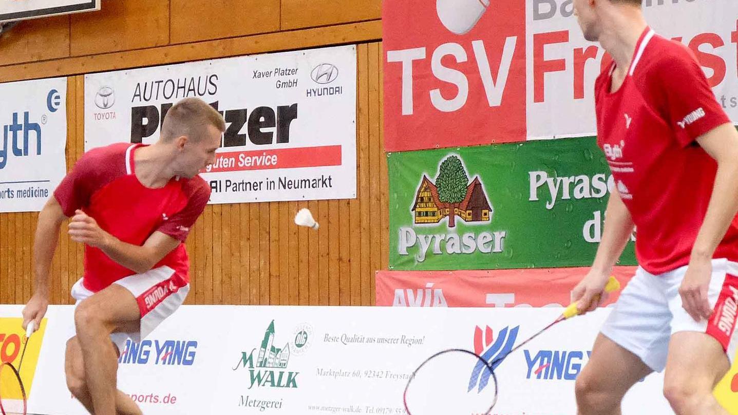 Auf dem Feld seit dem Umbruch 2020 mit viel Potential ausgestattet, zogen Freystadts Badminton-Asse im Losverfahren um den Zweitliga-Aufstieg den Kürzeren.