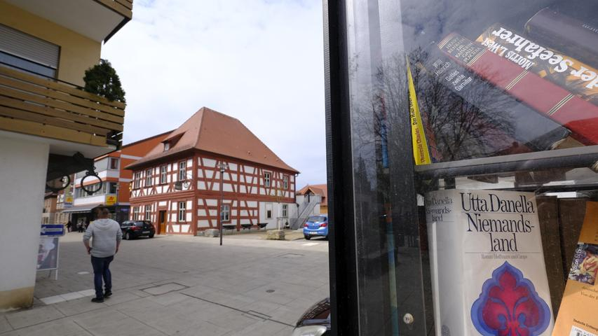 Das wunderbar restaurierte Fachwerkhaus, in dem bis vor geraumer Zeit die Kneipe