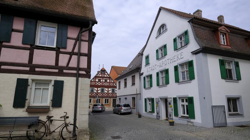 Altstadt Höchstadt.