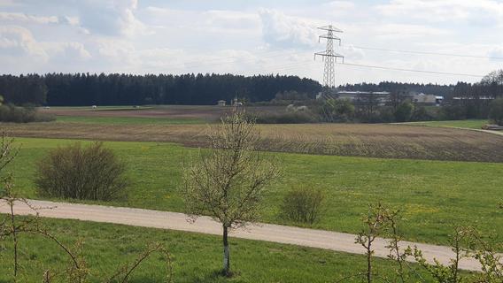 Wenig Platz für ICE-Werk  zwischen Postbauer-Heng und Ezelsdorf