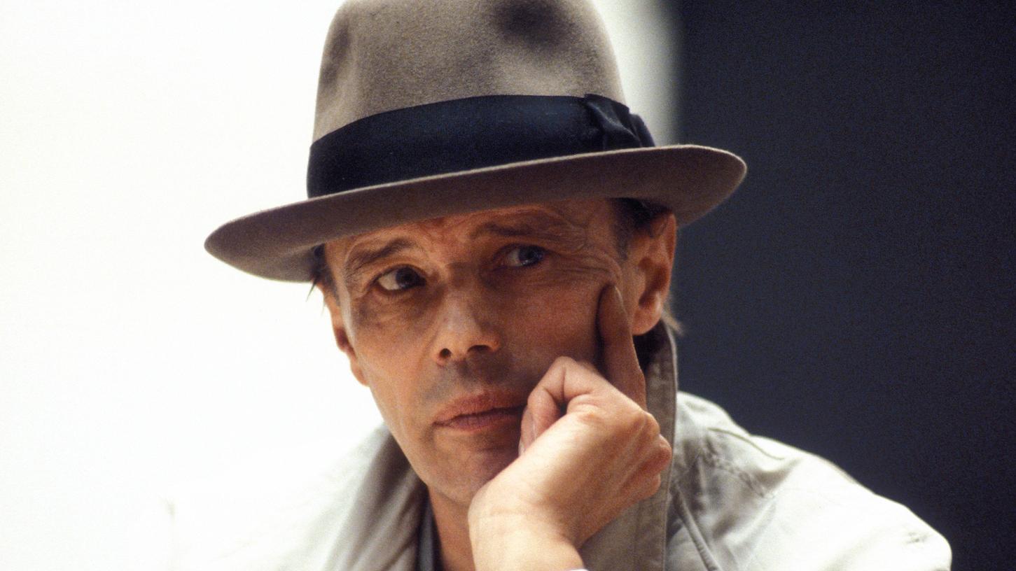 Markenzeichen Hut: Joseph Beuys im Jahr 1979.
