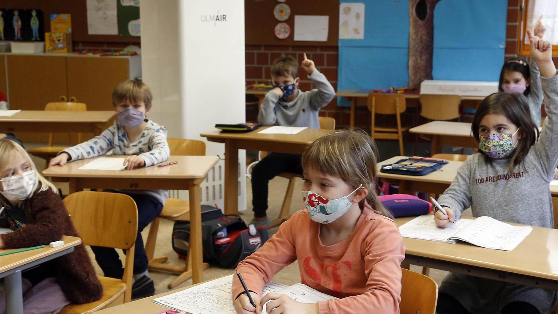 In der Anna-Grundschule, wie in allen Schulen, die von der Stadt Forchheim bestückt werden, gibt es Raumluftgeräte (Bild). Aber in der Mehrzahl der Schultage waren 2021 bisher gar keine Schüler da.