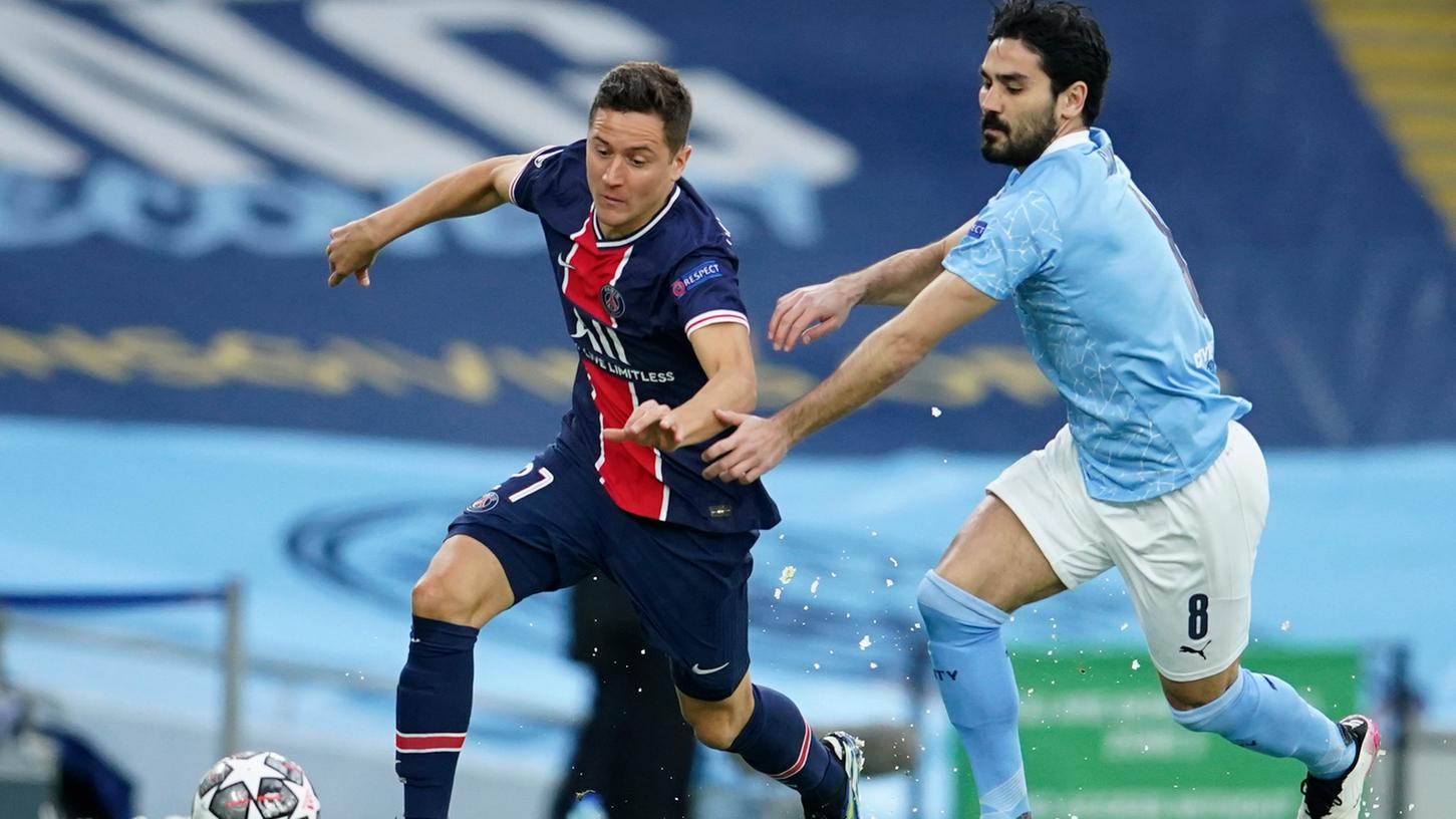 Paris kommt an ihm nicht vorbei: Der Ex-Nürnberger Ilkay Gündogan zieht mit Manchester City ins Champions-League-Endspiel ein.