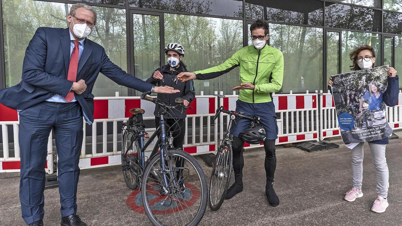 """Auf das Fahrrad umsteigen und dabei etwas für das Klima und die Umwelt tun: Ab Samstag, 8. Mai, kann man sich in Herzogenaurach wieder für das """"Stadtradeln"""" anmelden."""
