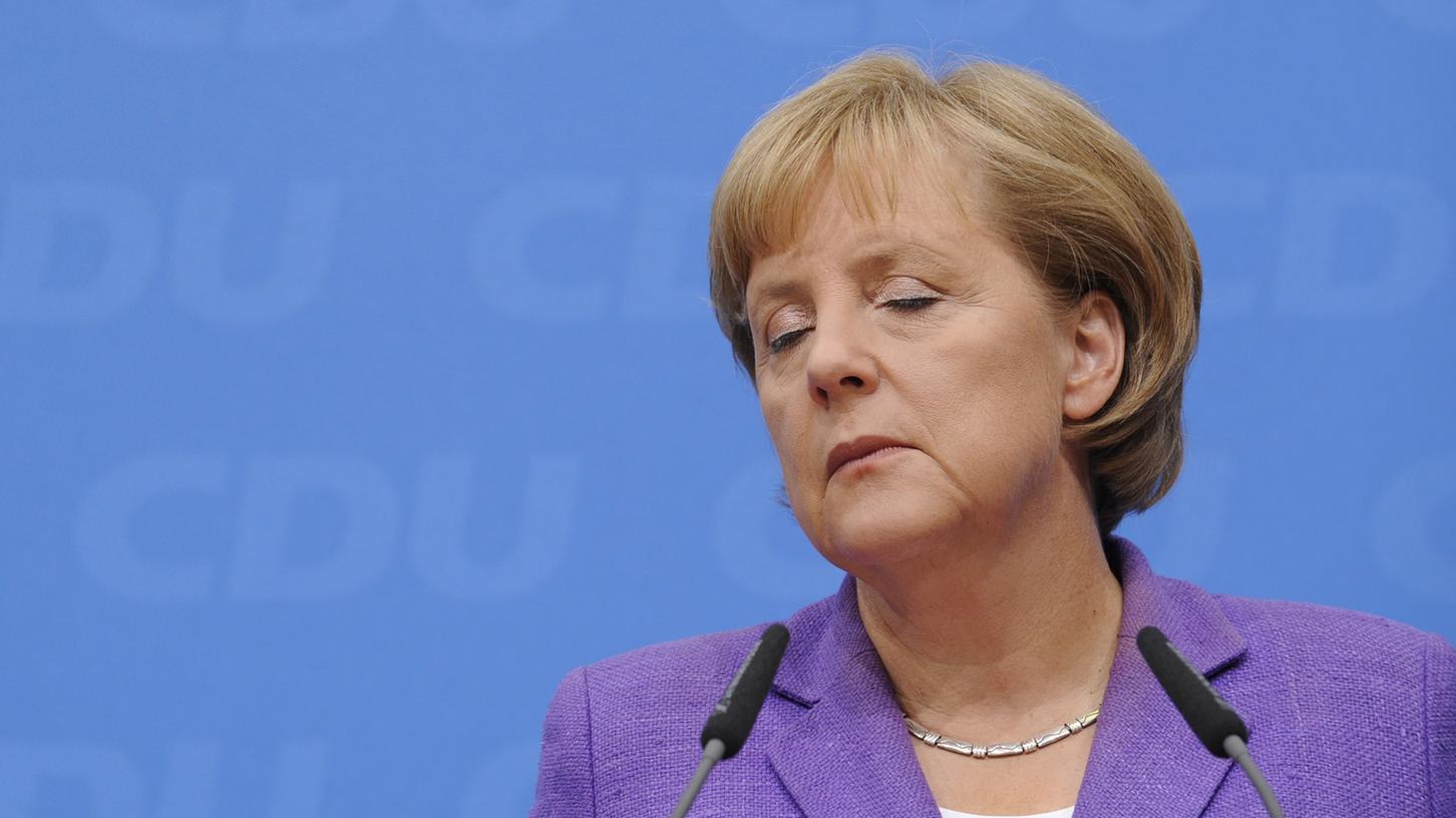 Wirkt bisweilen amtsmüde: Bundeskanzlerin Angela Merkel (CDU).