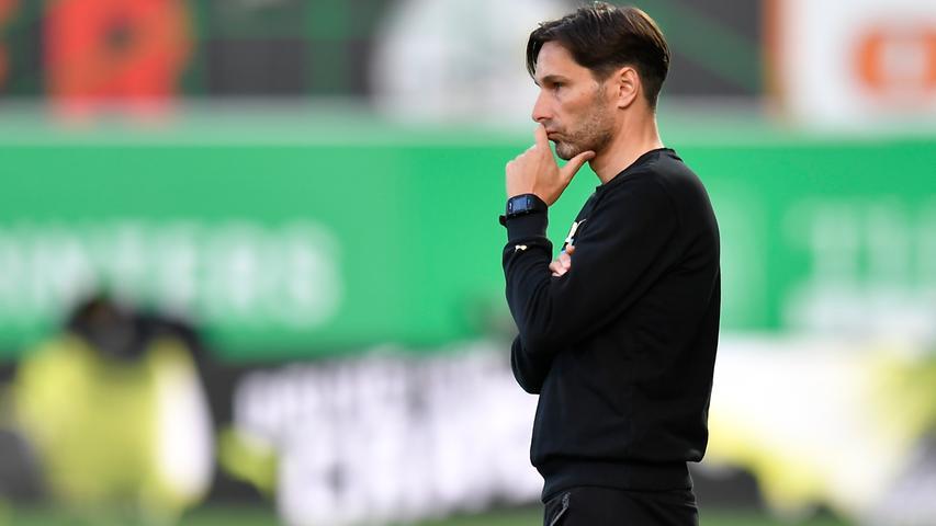 Wortkarg: Zu Spekulationen um seine Person und Werder Bremen mochte sich Fürths Coach Stefan Leitl nicht äußern.