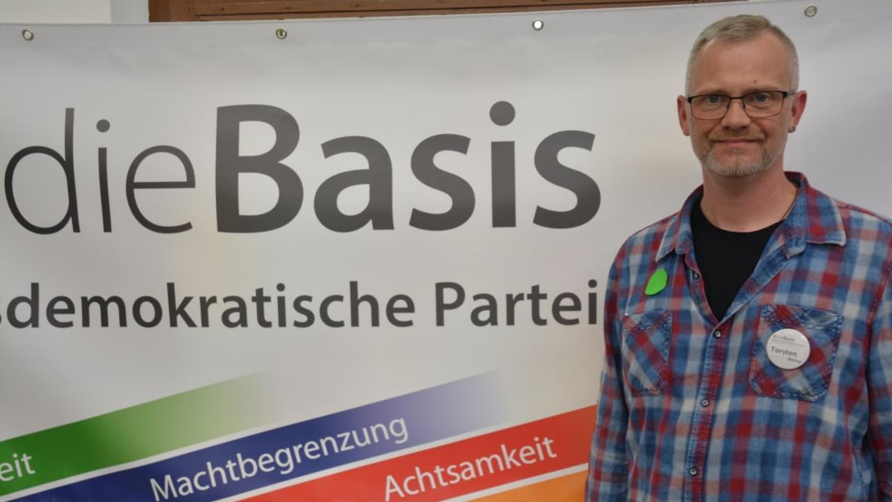 Torsten Weber ist Direktkandidat der Partei