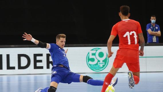 Dieser Franke ist Deutschlands bester Futsal-Torwart