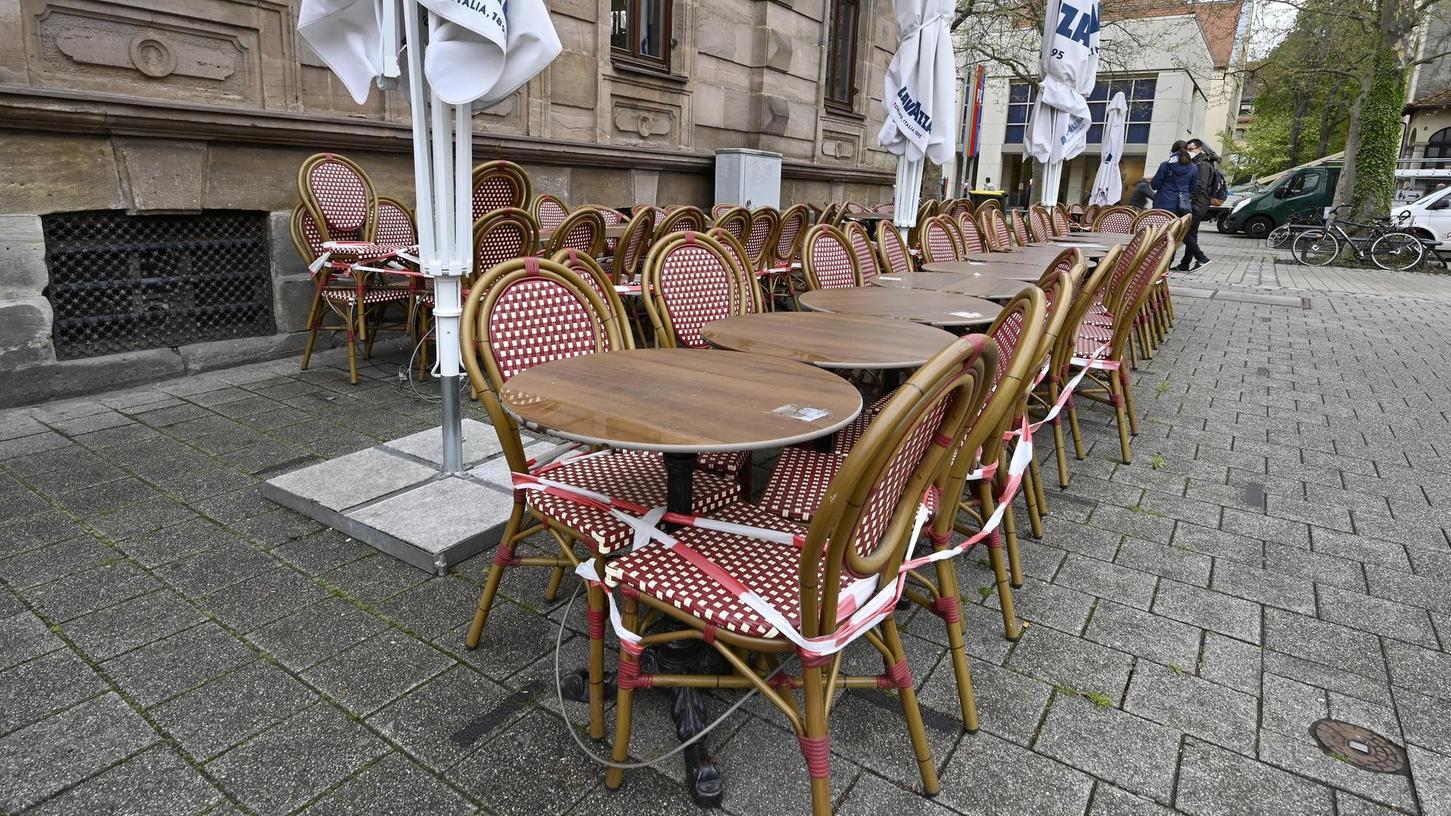 Noch ist unklar, ob im Außenbereich der Brasserie ab Montag jemand sitzen darf.