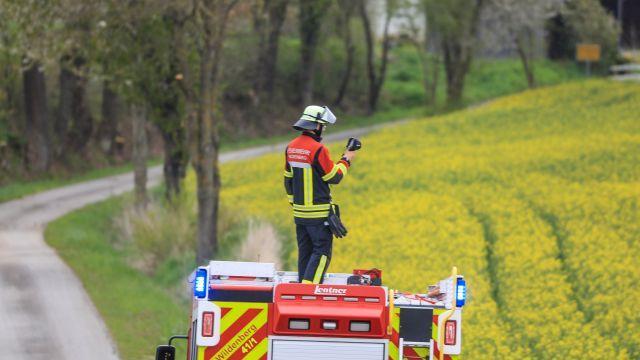 Auch die Feuerwehr ist auf der Suche nach dem Känguru.