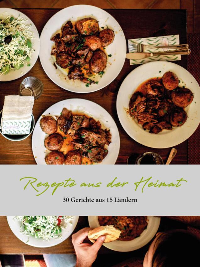 Schmackhaftes aus aller Welt: Das Deckblatt des Kochbuches