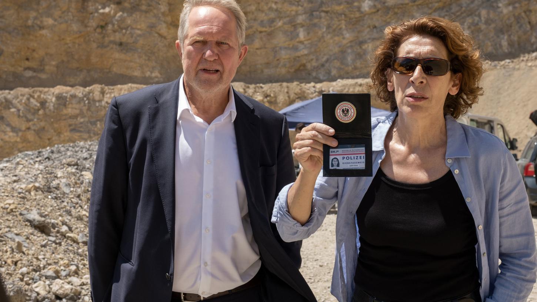 Bibi Fellner (Adele Neuhauser) und Moritz Eisner (Harald Krassnitzer) in