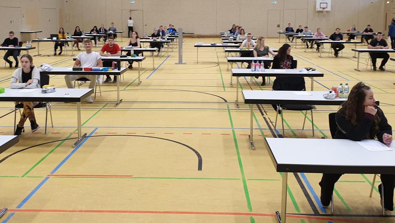 2021 steht das zweite Abitur in der Pandemie-Zeit an. So sah es in Ebermannstadt 2020 aus.