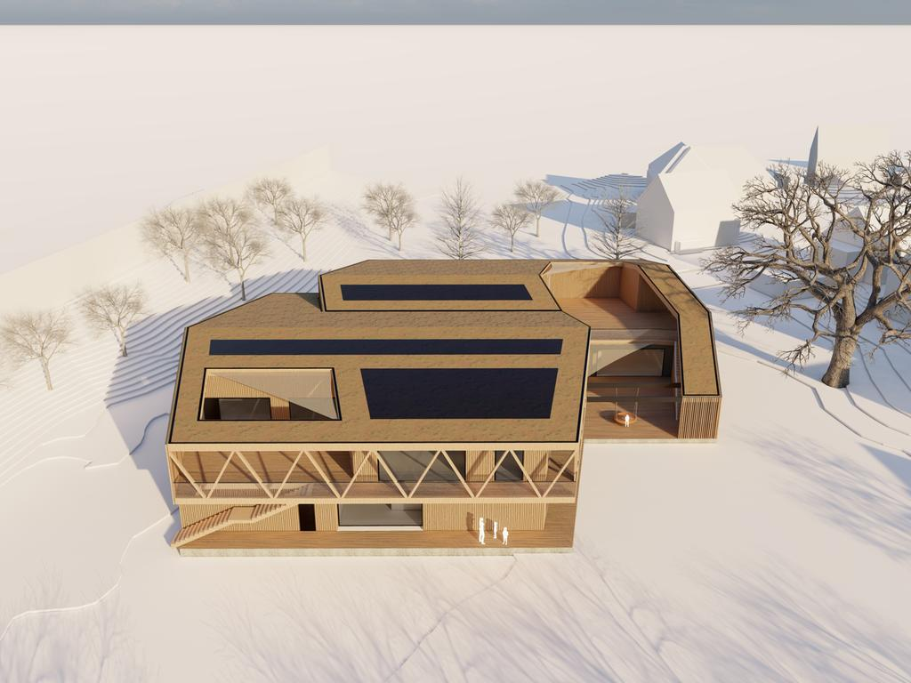 Neubau Merowinger Kita, Forchheim Grafik: DJB Architekten Erlangen KiTa Merowingerstraße Simulation