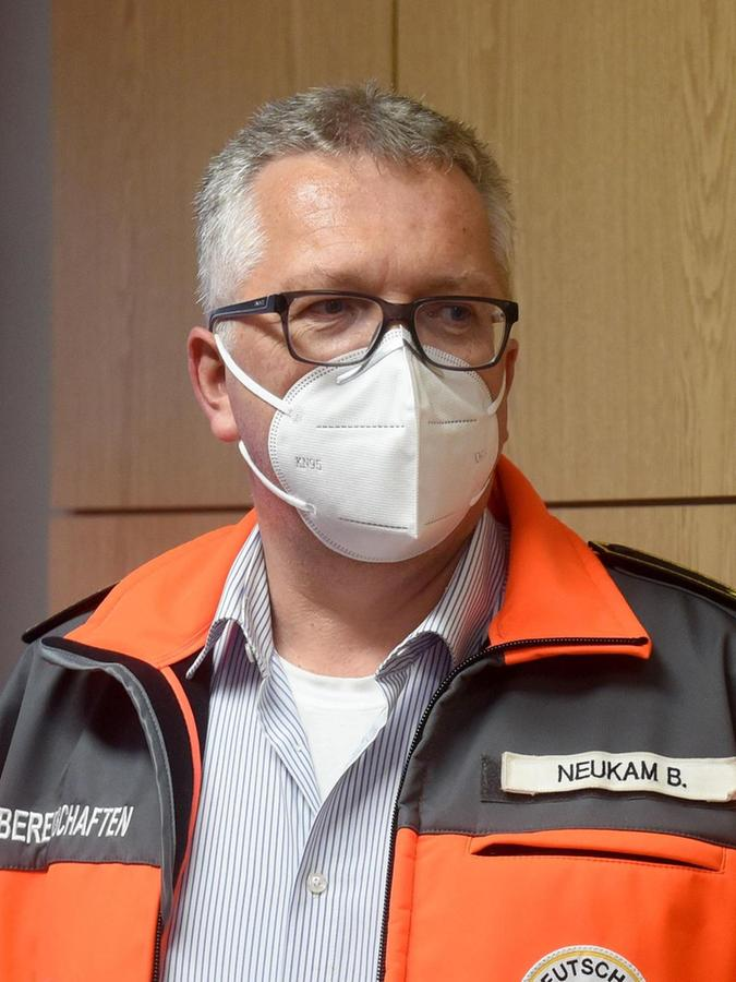 Bernd Neukam schätzt die Kameradschaft beim BRK.
