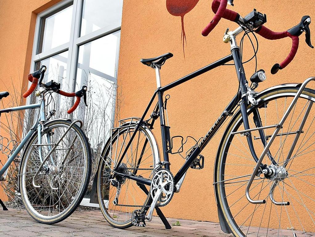 Beim Bau eines Fahrradrahmens wird auf vieles geachtet.