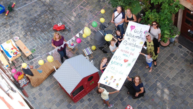 Beispiel Schindelgasse: Das Altstadt-Sträßchen war im vergangenen Sommer kurzzeitig schon mal in Kinderhand.