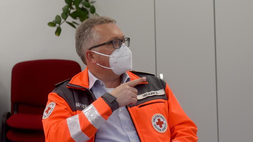 Bernd Neukam übt neben seiner Tätigkeit in Pegnitz auch die Funktion des stellvertretenden Kreis-Bereitschaftsleiters aus.