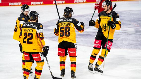 Eishockey-Nationalteam verabschiedet sich mit Sieg aus Nürnberg