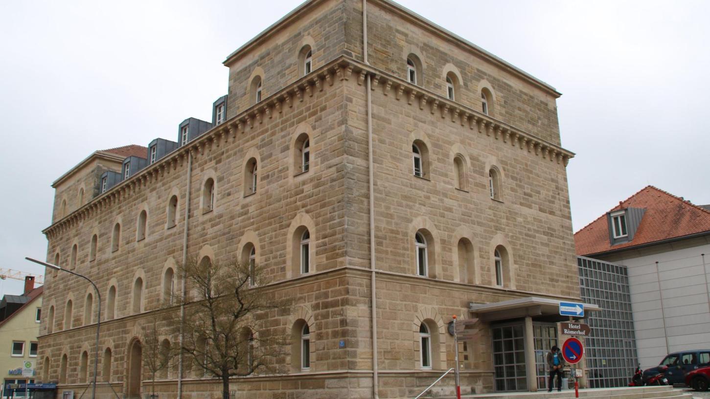 Das Amtsgerichtsgebäude in der Bamberger Straße in Neustadt.