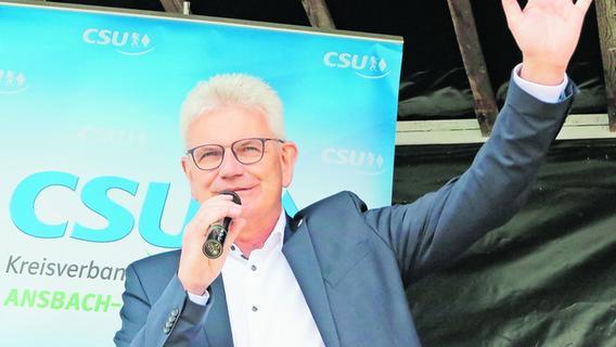 Artur Auernhammer will wieder in den Bundestag