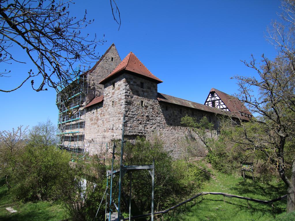 Motiv: Burg Hoheneck Ipsheim Stadt Nürnberg Kreisjugendring Festung Weinberge Baustelle Jugendbildungsstätte Foto: Stefan Blank