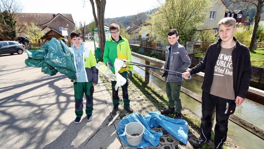 Saubere Stadt: Treuchtlinger befreien Gemeindegebiet von Müll