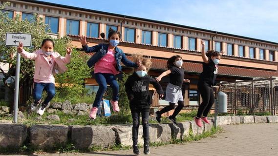 Zurück ins Klassenzimmer: Forchheimer Grundschüler freuen sich auf die Schule