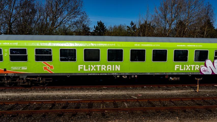 Neue Haltestellen: Flixtrain fährt ab Juni auch Nürnberg an