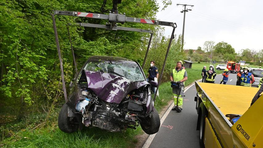 Schwerer Unfall zwischen Atzelsberg und Rathsberg