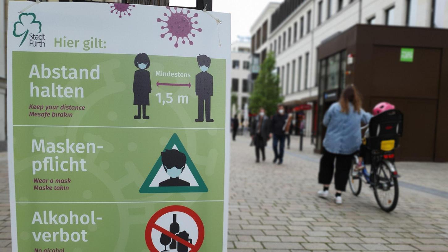 Trotz aller Vorschriften und Sicherheitsmaßnahmen ist die Inzidenz in Fürth noch immer ungewöhnlich hoch. Eine Erklärung dafür hat niemand.