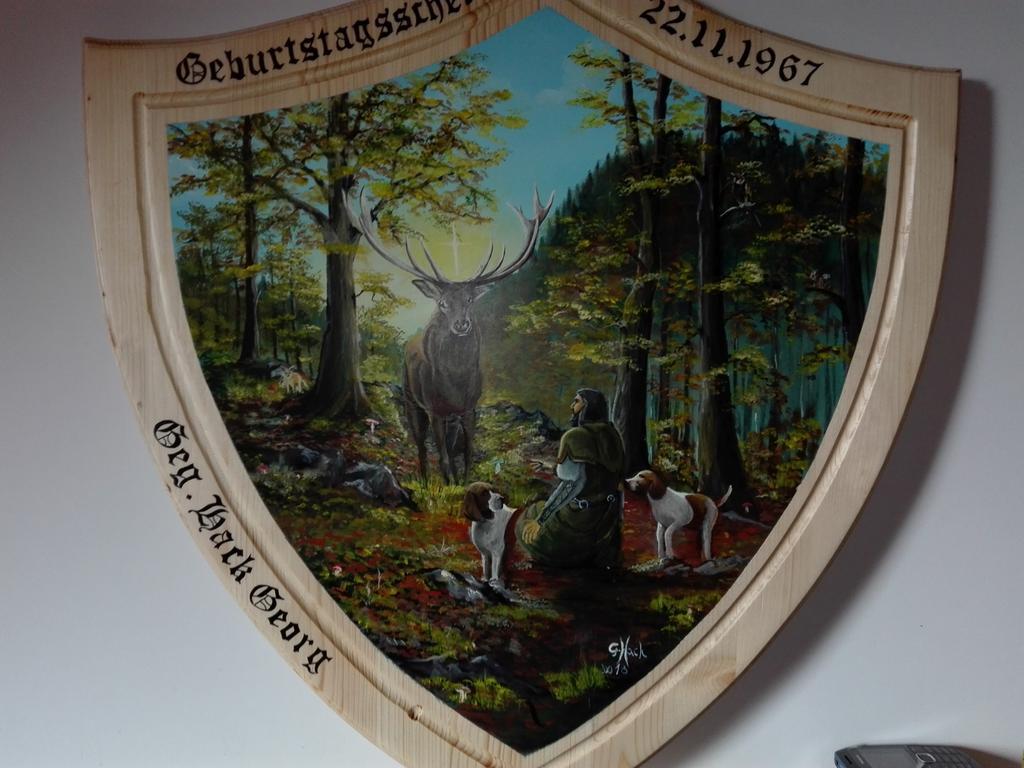 Georg Hack; Schuetzenscheibe; Foto von: Georg Hack; Datum: 10052021