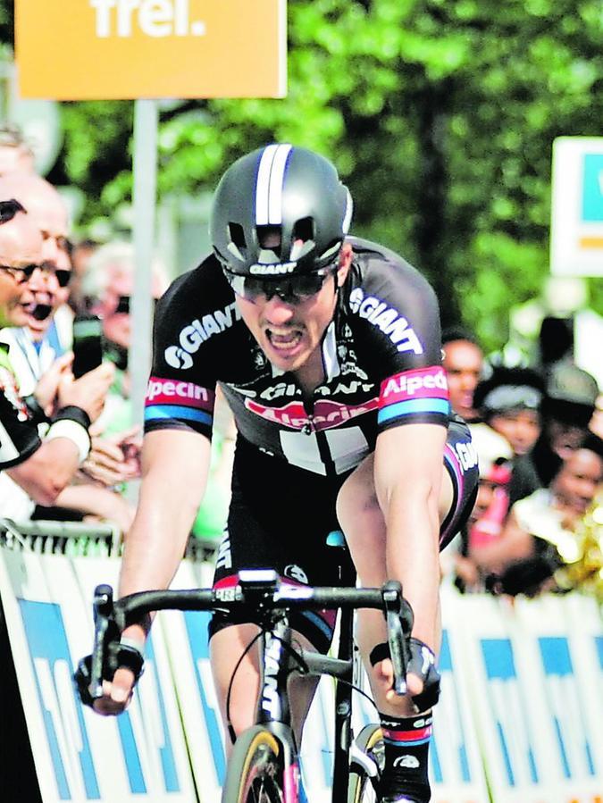 """2015 holte sich John Degenkolb auf der Schluss-Etappe der """"Bayern-Tour"""" den Tagessieg in Nürnberg."""