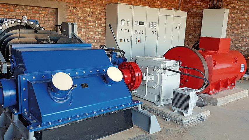 Turbine von der Firma Ossberger